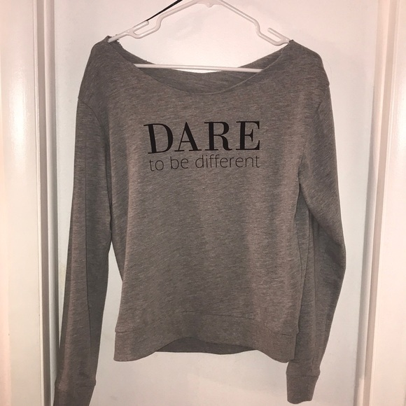 H&M Sweaters - Dare to be different H & M thin sweatshirt